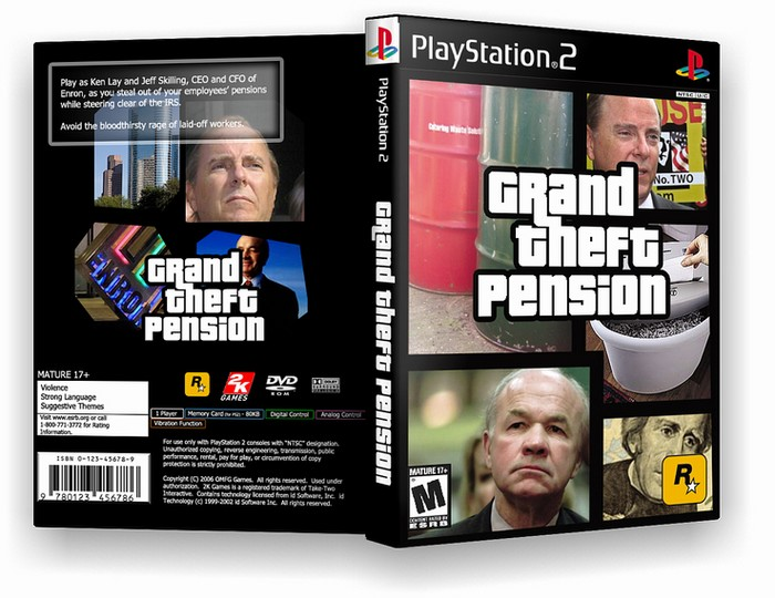 Grand Theft Pension box art cover