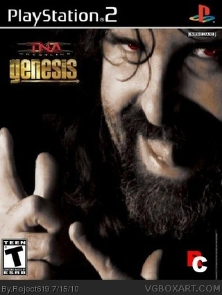 TNA Wrestling By Reject619 box cover