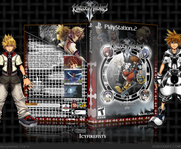 Kingdom Hearts II - Nobody Edition box art cover