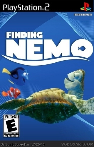 Finding Nemo box cover