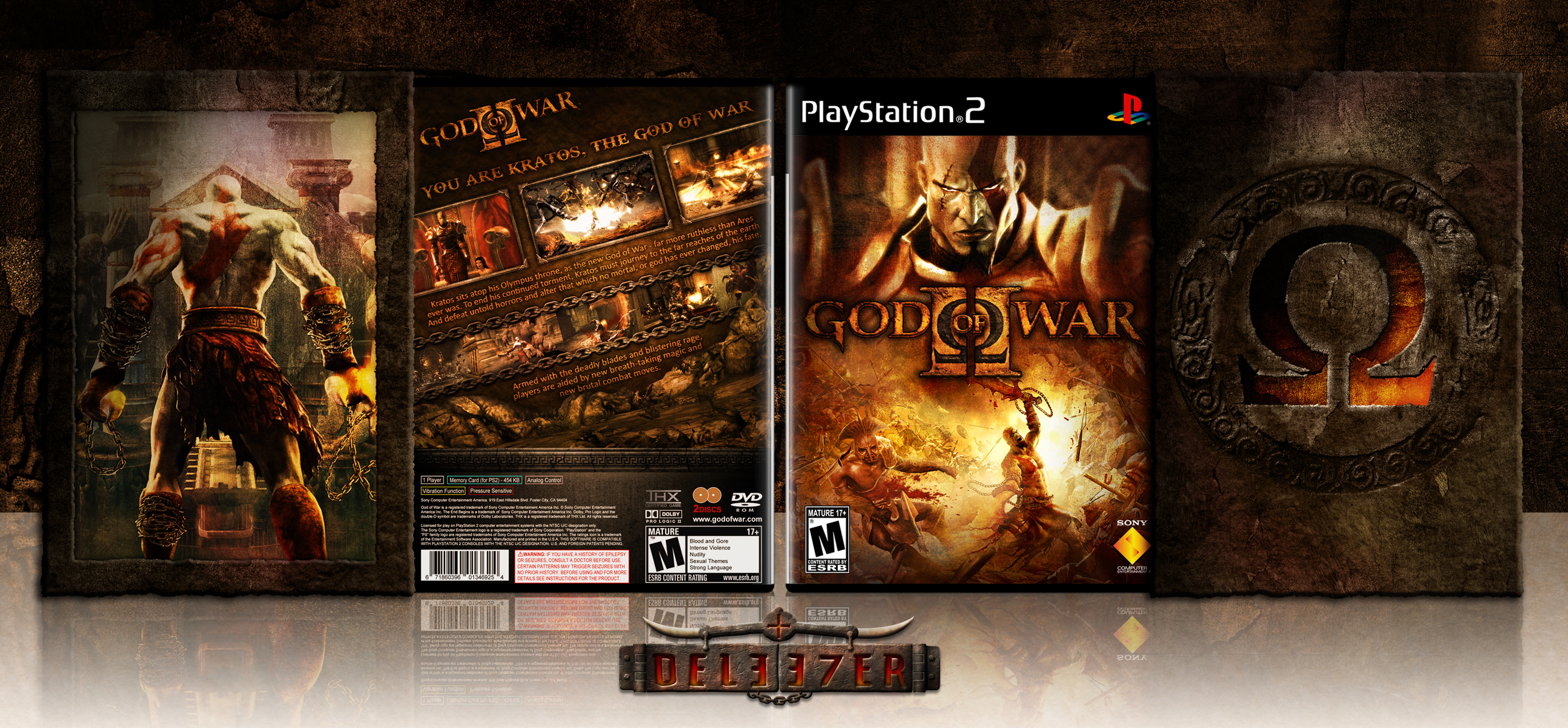 God of War II box cover