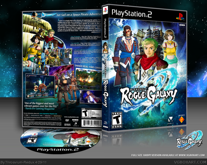 Rogue Galaxy box art cover