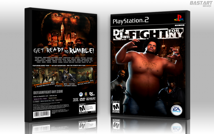 Def Jam: Fight for NY box art cover