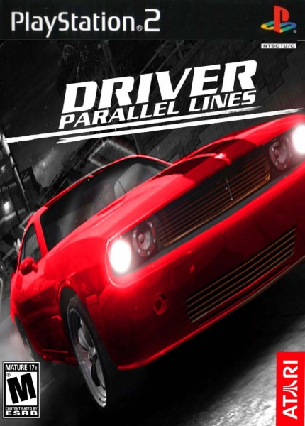 Driver: parallel lines (2006) playstation 2 box cover art mobygames.