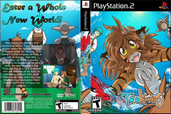 Comic Aun Book Cover Illustration Ver ~ Two kinds the game ver playstation box art cover by