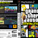 Grand Theft Auto: Springfield Box Art Cover