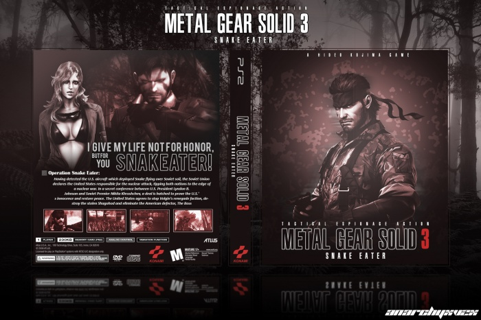 METAL GEAR SOLID 3 - Snake Eater box art cover