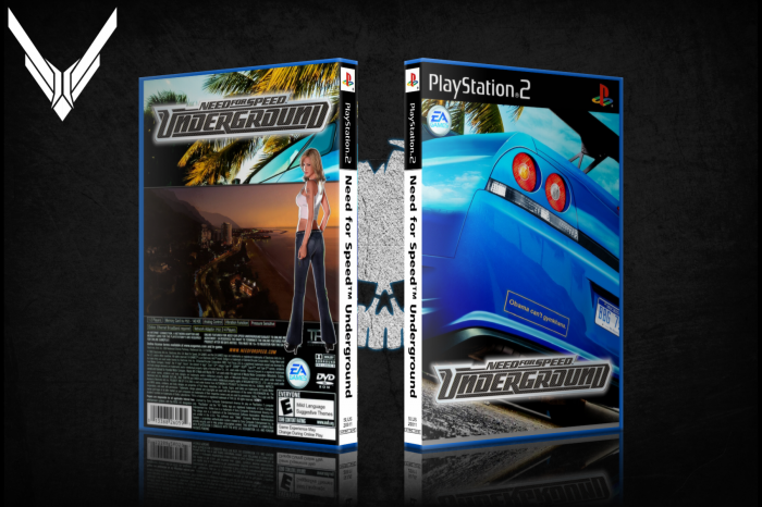 Need for Speed Underground box art cover