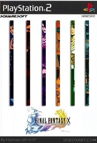 Final Fantasy X box cover