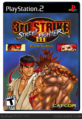 Street Fighter III: 3rd Strike box cover