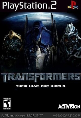 Transformers: The Game box cover