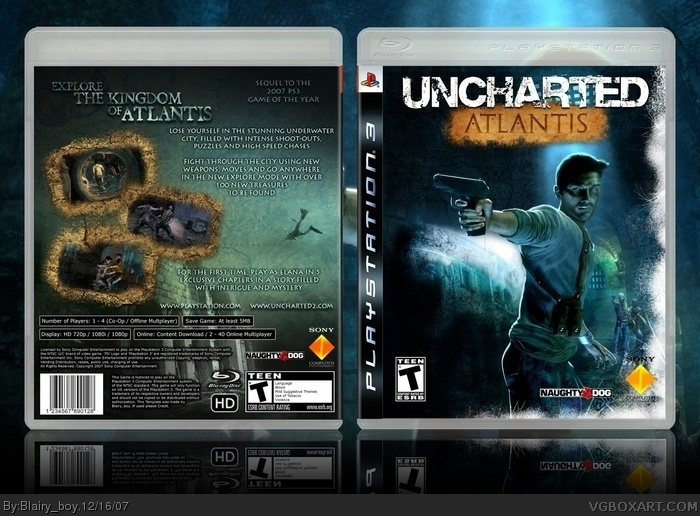 Uncharted: Atlantis box art cover