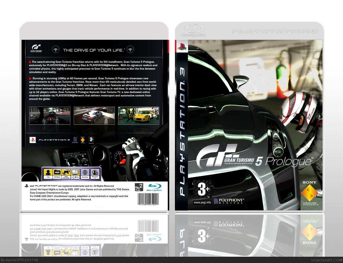 Gran Turismo 5: Prologue box cover
