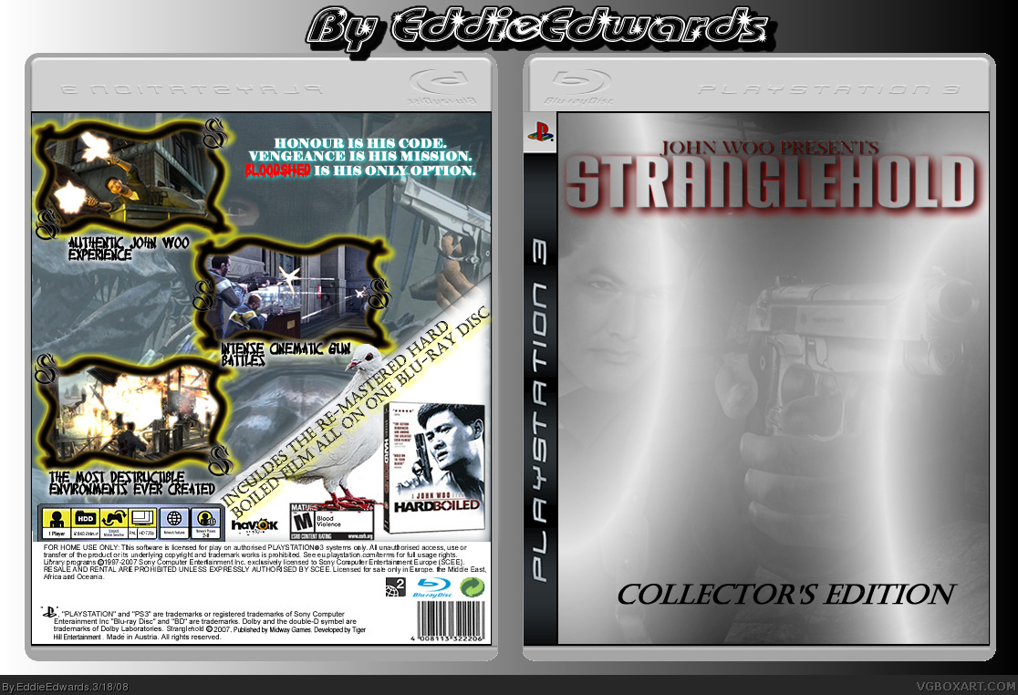 Stranglehold box cover