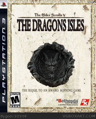 The Elder Scrolls: The Dragons Isles box cover