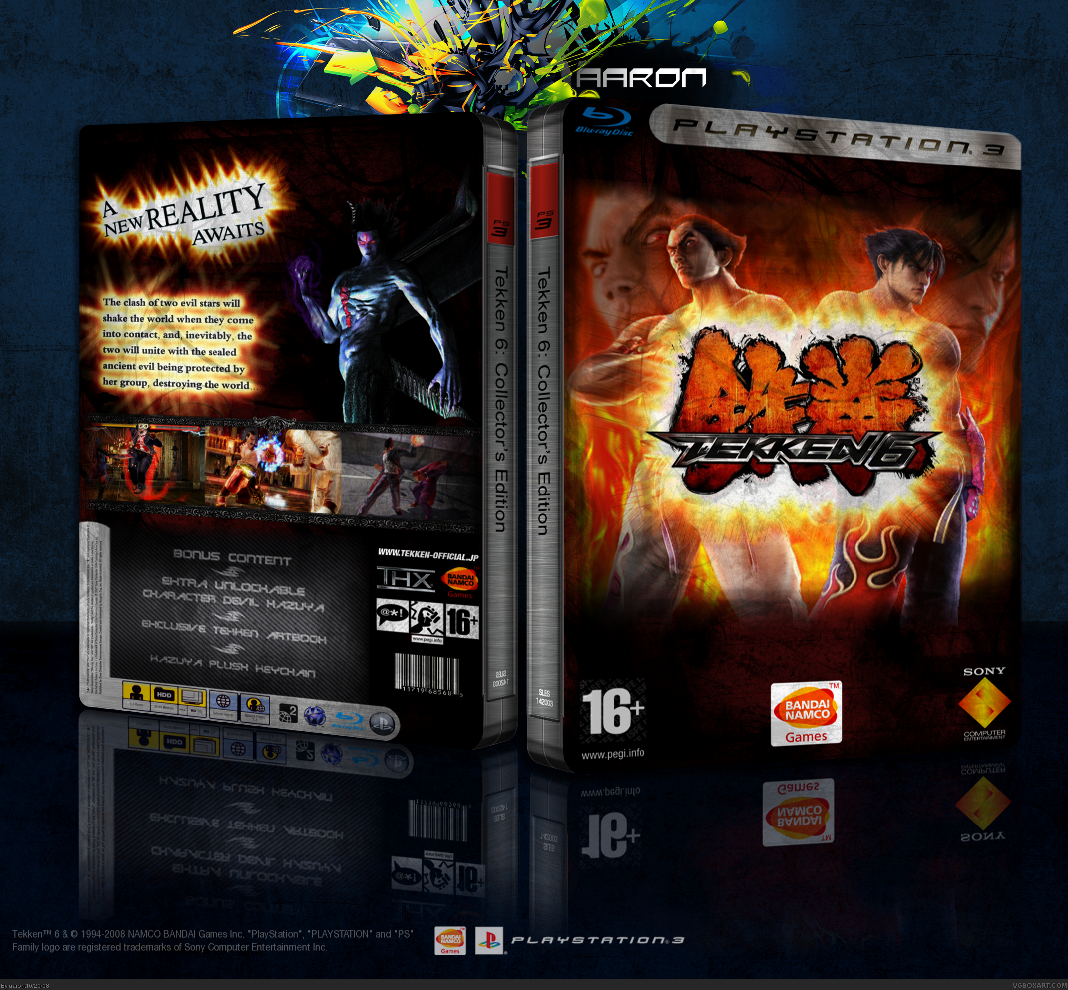 Tekken 6: Collector's Edition box cover