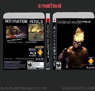 Twisted Metal box art cover