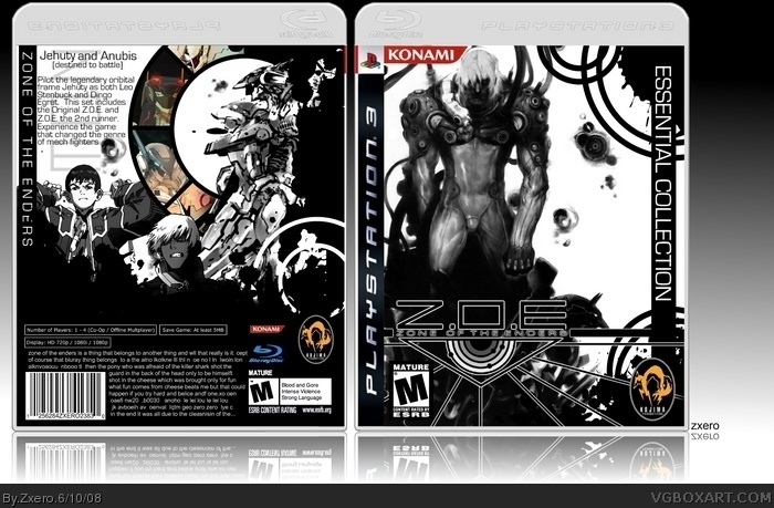 Zone of the Enders Collection box art cover