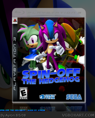 Spin-off the Hedgehog box cover