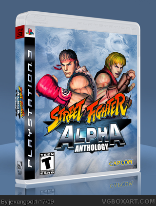 Street Fighter Alpha Anthology box art cover