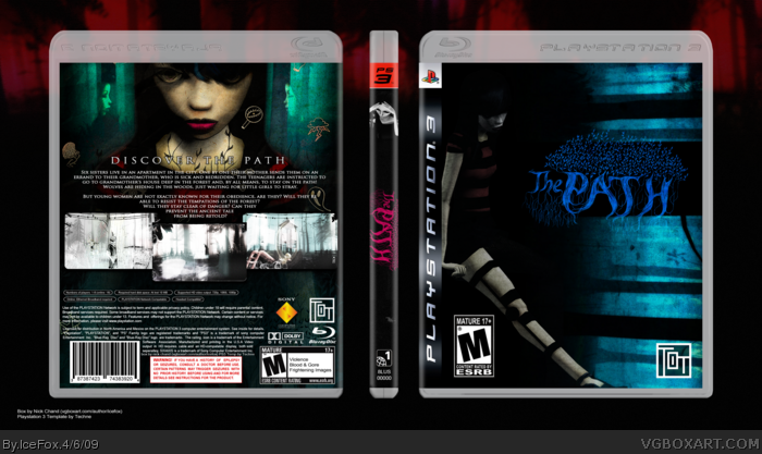 The Path box art cover