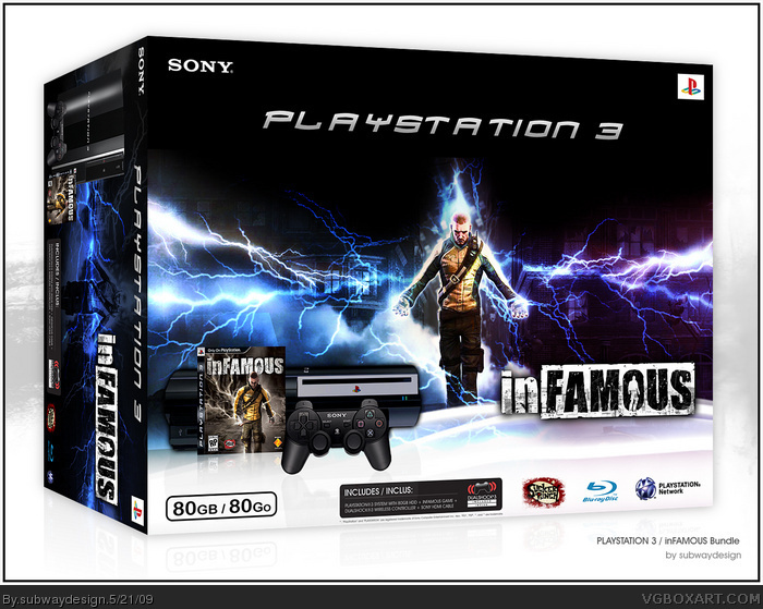 inFAMOUS Bundle box art cover