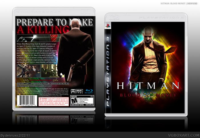 Hitman: Blood Money box art cover