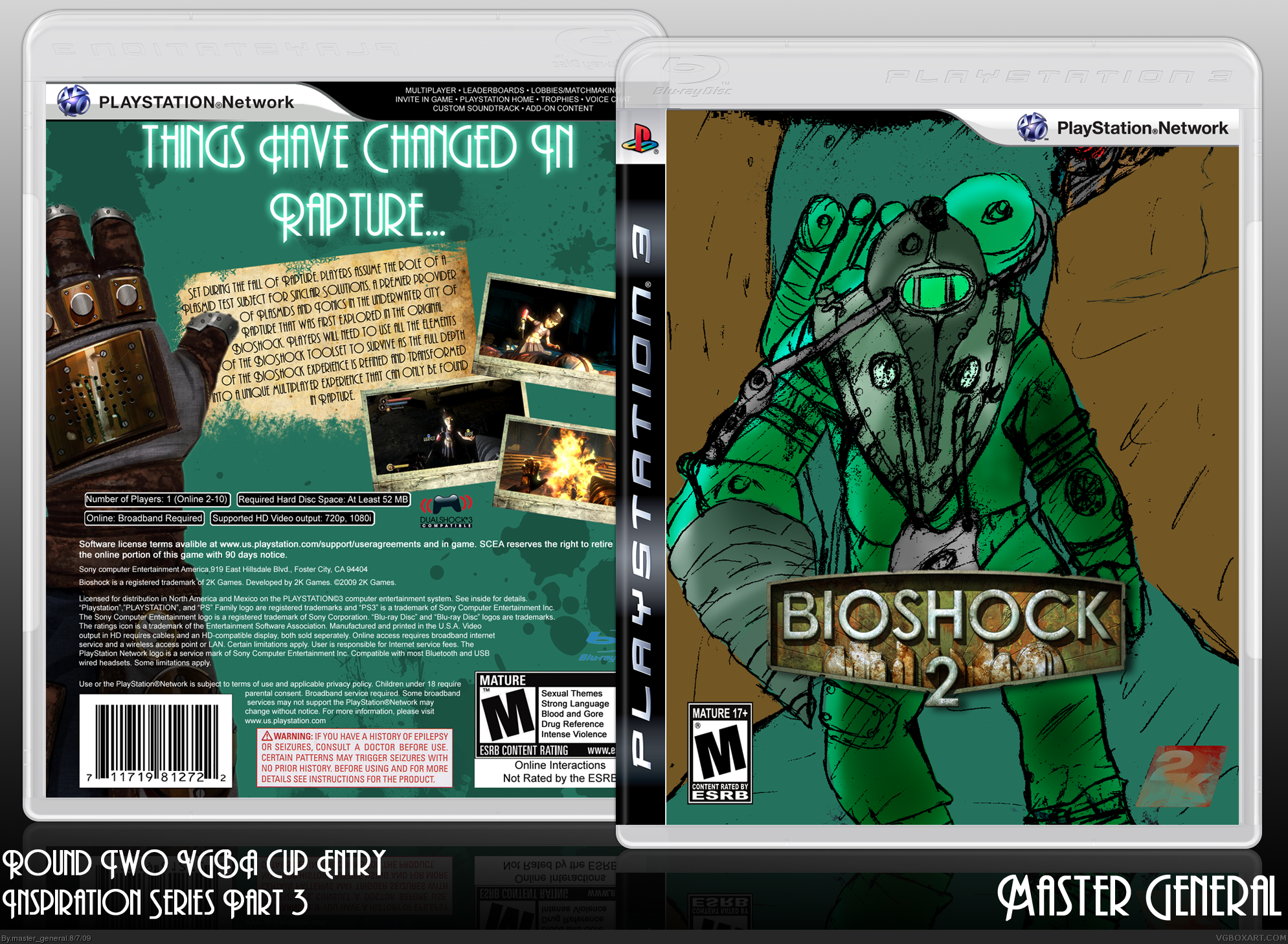 Bioshock 2 box cover