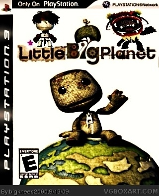 Little Big Planet box cover