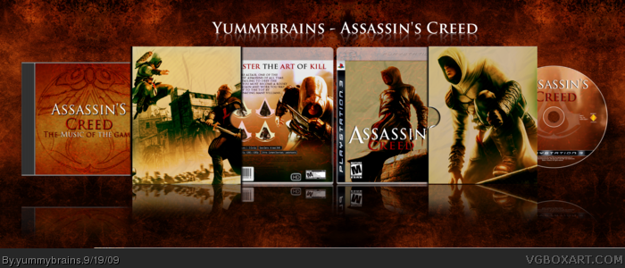 Assassin's Creed: Collectors Edition box art cover