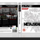 Metal Gear 2: Solid Snake Box Art Cover
