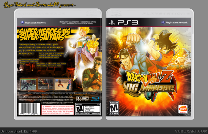Dragon Ball Z vs DC Universe box art cover