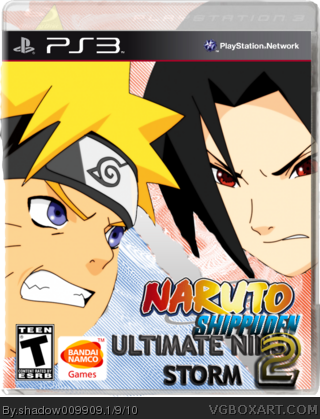 Naruto Shippuden: Ultimate Ninja Storm 2 box cover