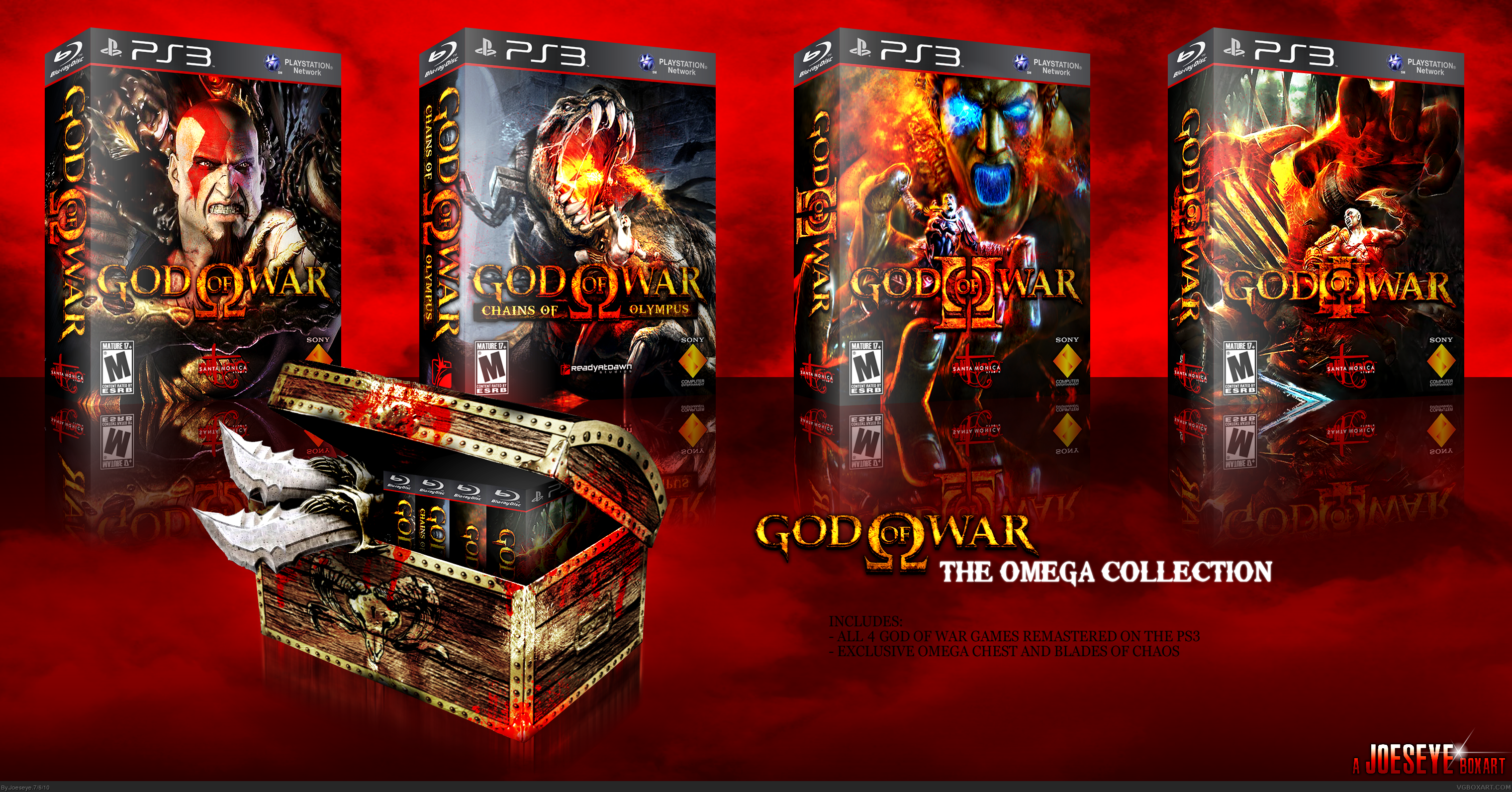 God of War: The Omega Collection box cover