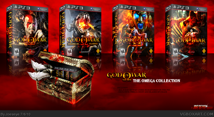 God of War: The Omega Collection box art cover