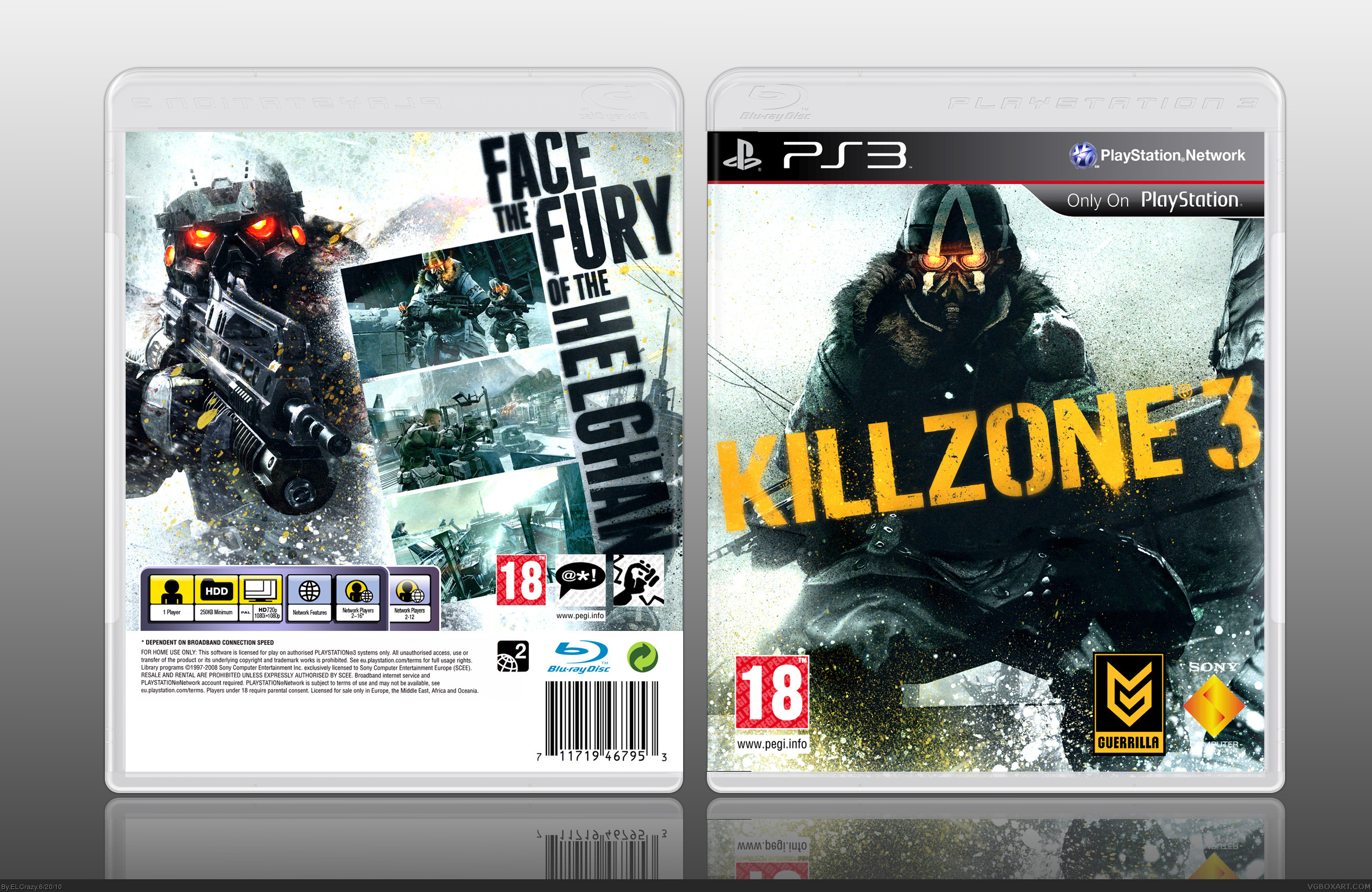 Killzone 3 box cover
