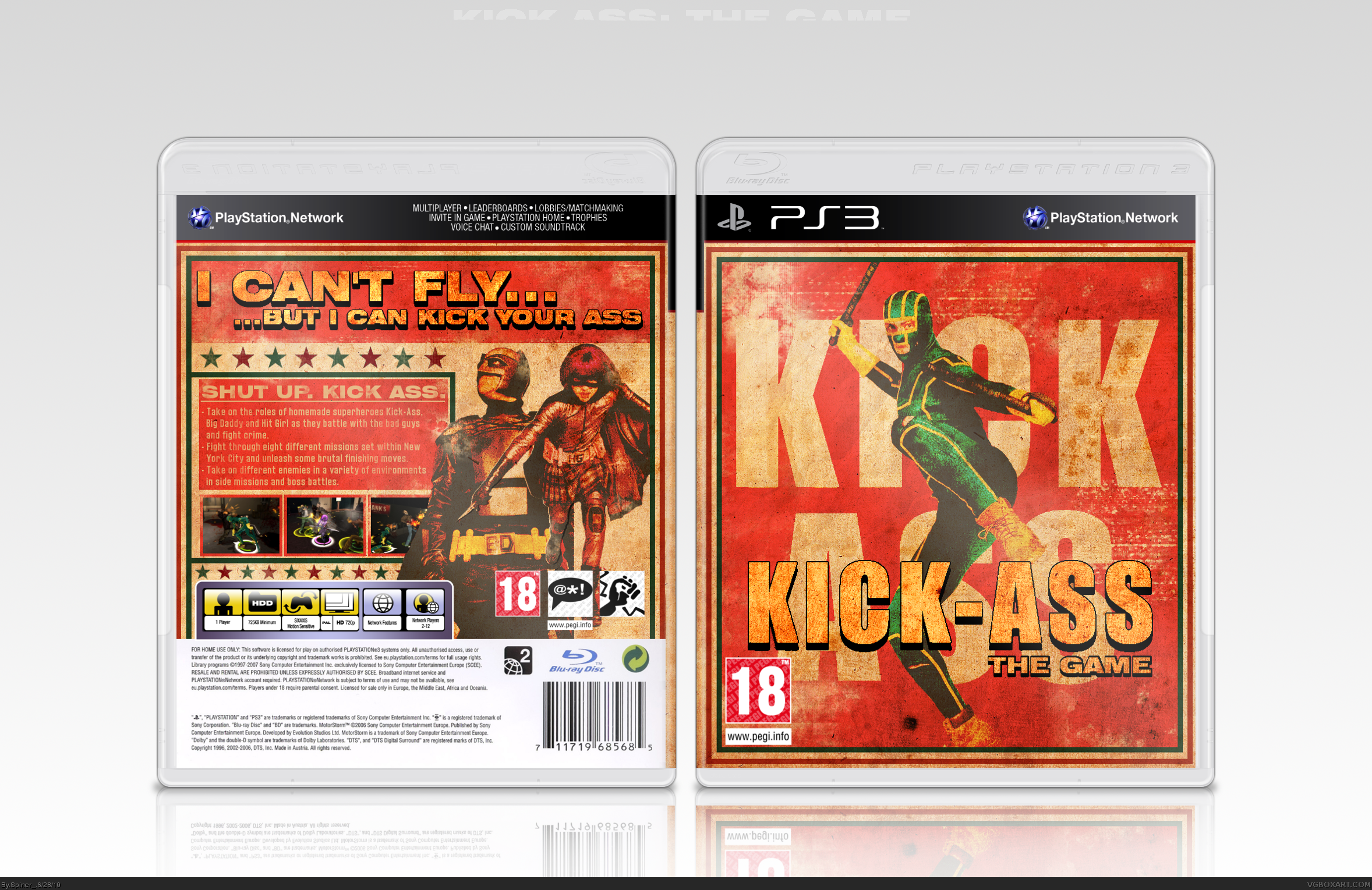 Kick-Ass box cover