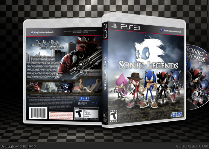 Sonic Legends box art cover
