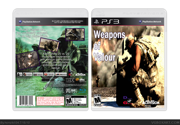 Weapons of Valour box art cover