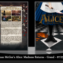 American McGee's Alice: Madness Returns Box Art Cover