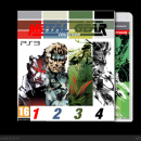 Metal Gear Collection Box Art Cover