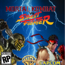 Mortal Kombat vs Street Fighter Box Art Cover