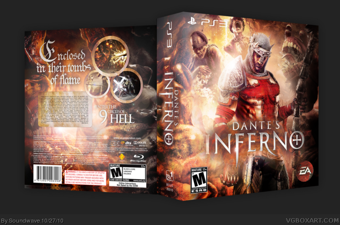 Dante's Inferno box art cover
