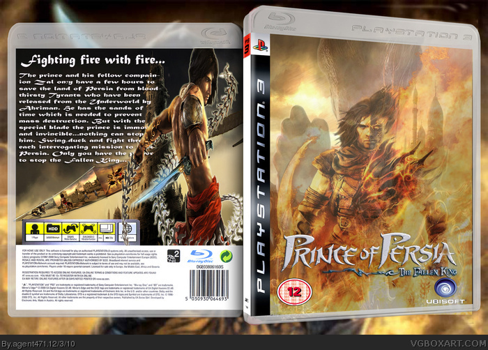 Prince of Persia: The Fallen King box art cover