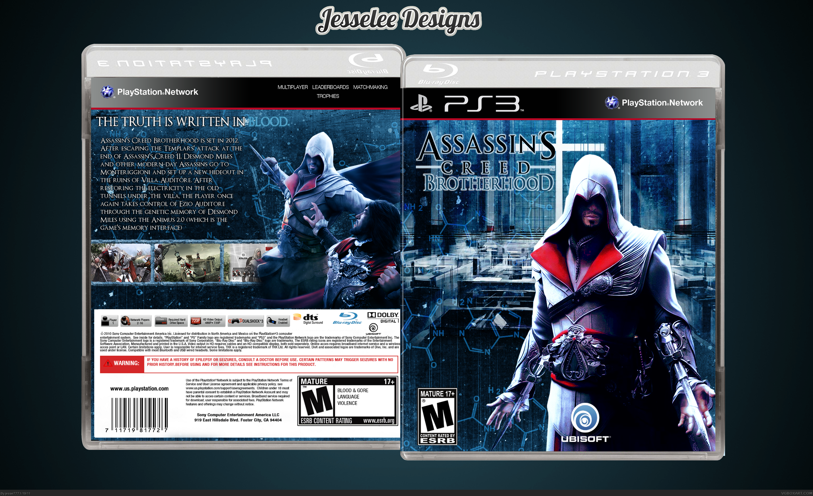 Assassin's Creed: Brotherhood box cover