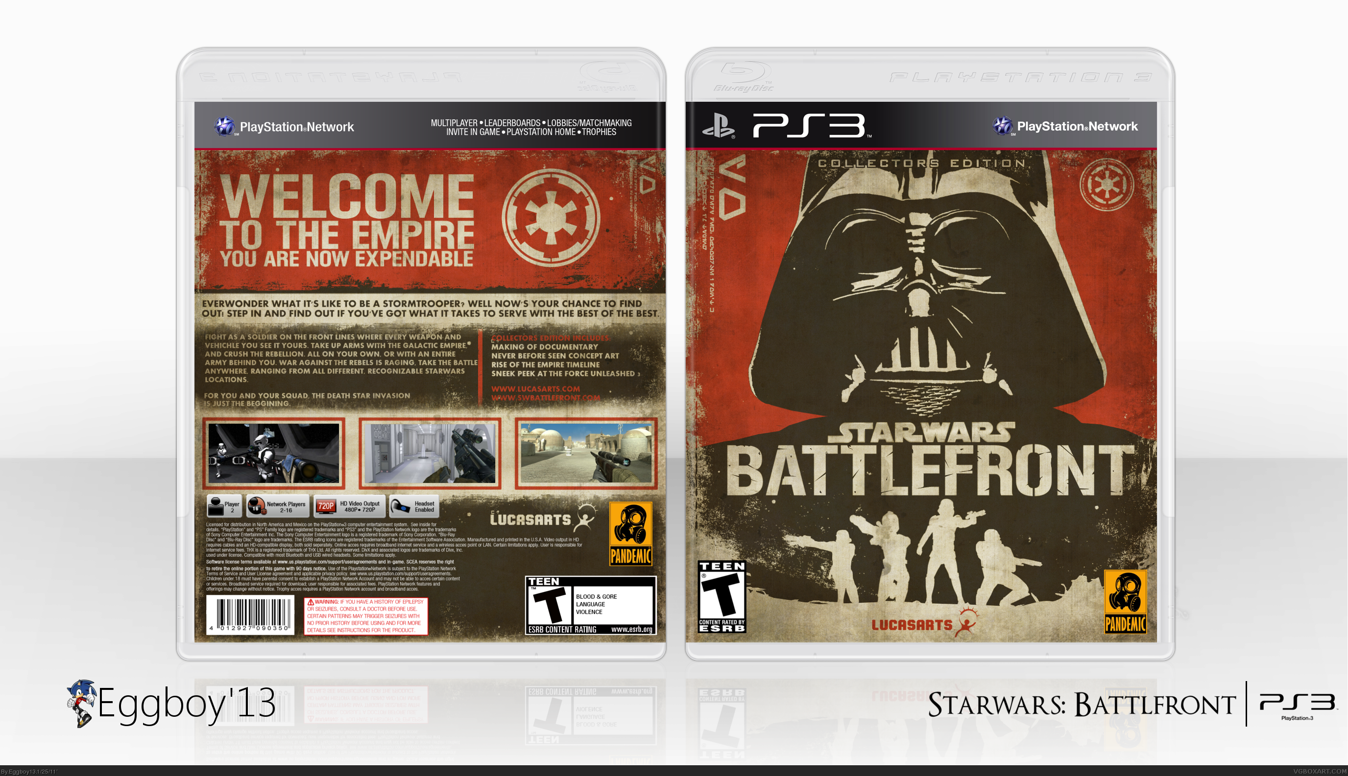 Star Wars: Battlefront box cover