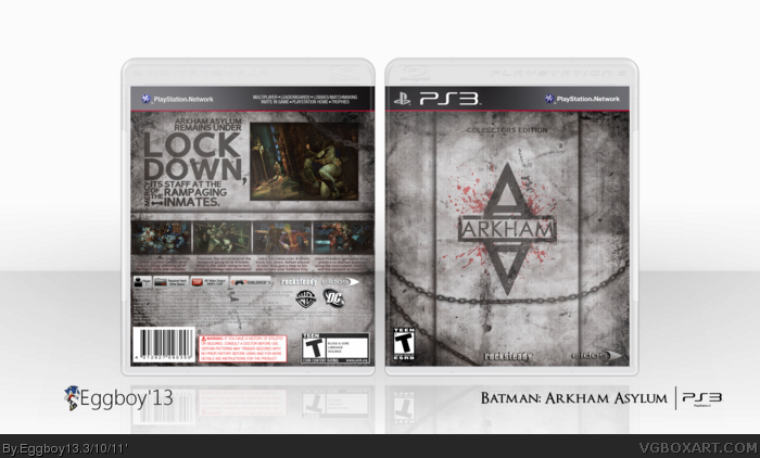 Batman: Arkham Asylum - CE box art cover