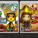 LittleBIGPlanet: Ratchet & Clank / Jak & Daxter Box Art Cover