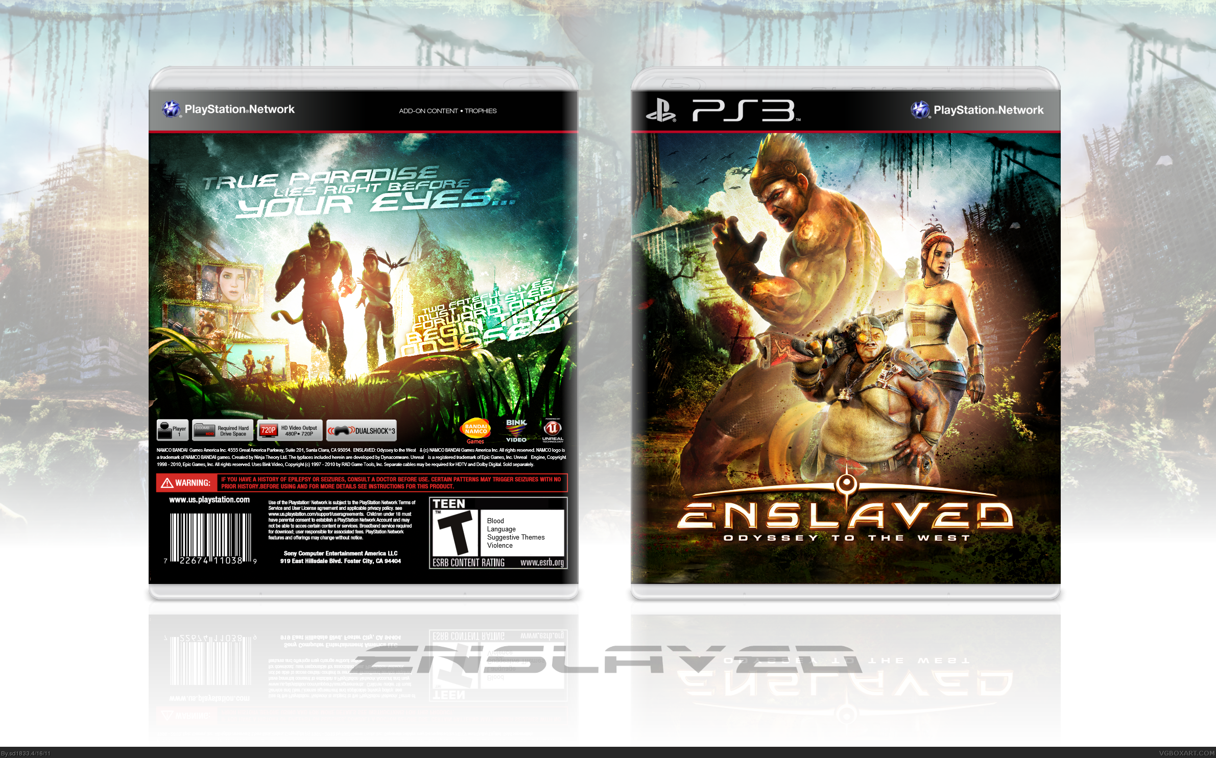 Enslaved: Odyssey to the West box cover