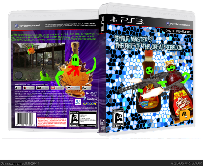 Syrup master 3 rise of the grate rebelion box art cover